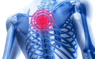 Может ли болеть грудь при остеохондрозе