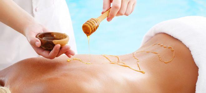 Правильная техника и польза массажа с медом от остеохондроза