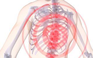 Симптомы и лечение остеохондроза грудного отдела позвоночника