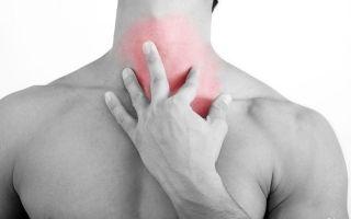 Причины и лечение кома в горле при остеохондрозе