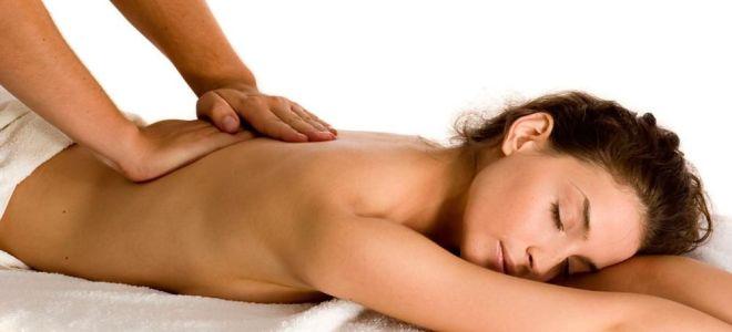 Как правильно сделать массаж спины при остеохондрозе
