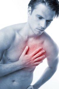 Боль в области сердца при остеохондрозе