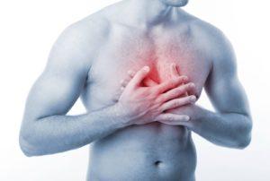 Боль в груди при остеохондрозе