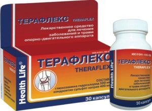 Изображение - Хондропротекторы для суставов препараты Terafleks_1-300x220