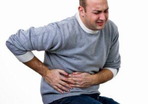 Может ли остеохондроз отдавать в живот